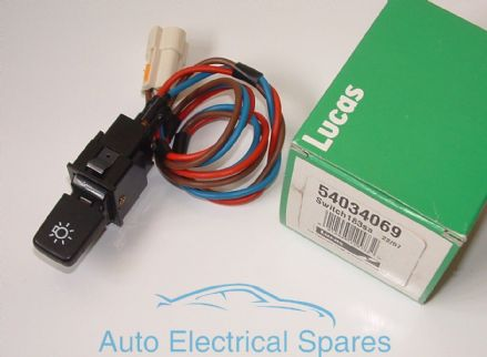 Lucas 54034069 183SA panel light switch